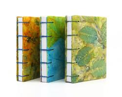 Ecoprinted Pocket Journals