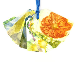 Ecoprinted Gift Tags 2