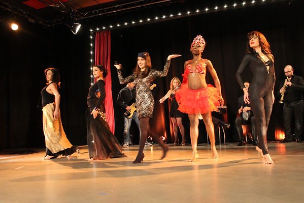 Spectacle cabaret oriental Nantes