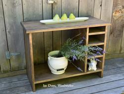 Wood/Kindling Storage Shelf