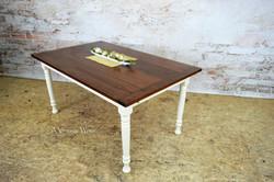 Farmhouse dining table for 6