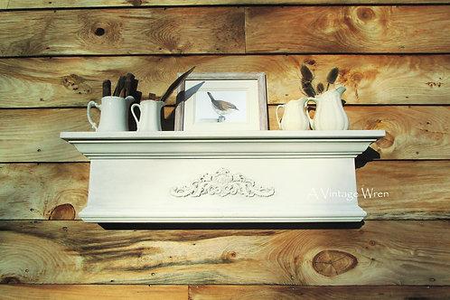 Handmade in the USA Floating Mantel Shelf