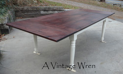 Farm table with Extensions
