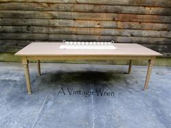 White Oak Dining Table for 8