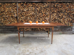 Extending Traditional Dining Table