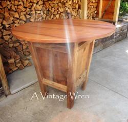 Reclaimed Bar Height Table