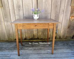 Red Oak Shaker Desk