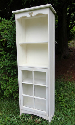 Cabinet made with old window