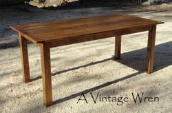 Solid Birch Farm Table