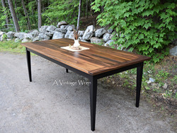 Black Walnut Dining Table for 8