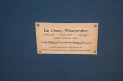 Ian Dunn Woodworker