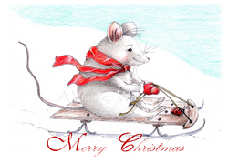 Jelly Roll Mouse card