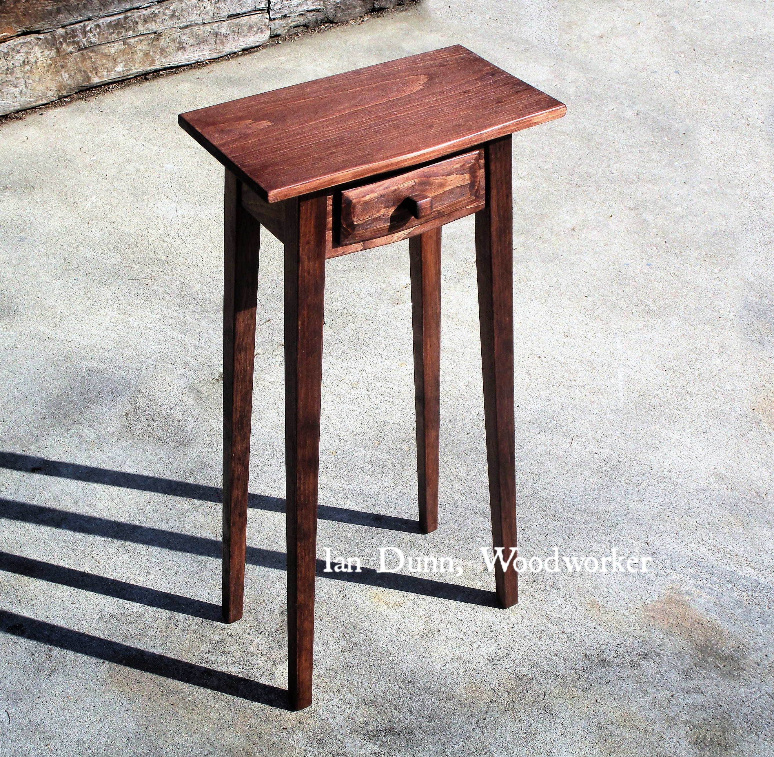 A beautiful small side table