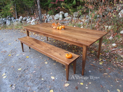 Shaker Dining Table Set for 8 to 10