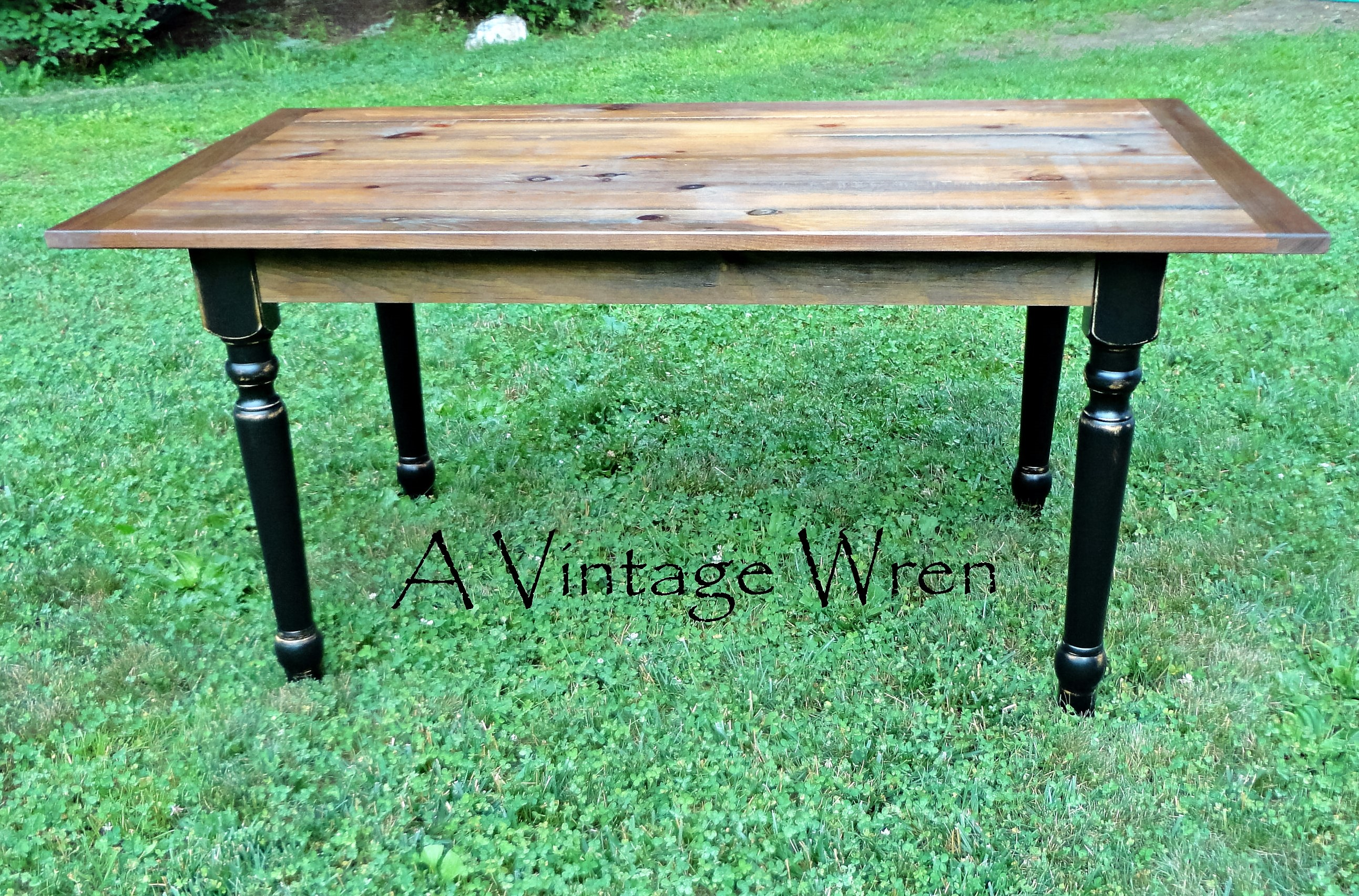 Traditional Pine Farm Table