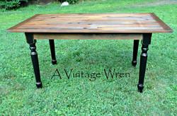 Traditional Pine Farm Table
