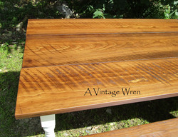 Special Walnut Stained Table Top