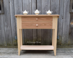 Cherry and Maple Shaker Sideboard Buffet / Accent Table