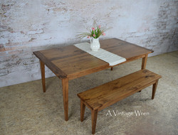 Shaker Dining Table for 6