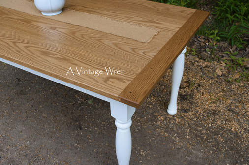 Red Oak table top