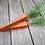 Thumbnail: Handmade in the USA Wooden Easter Carrots / Set of 3 primitive carrots
