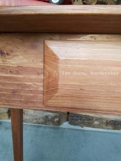 Detail of Beveled Drawer Box