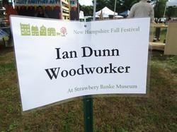 Ian Dunn, Woodworker