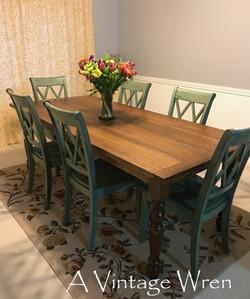 Farm Table for 8