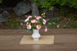 transferware vase