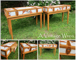 Galvanized Console Tables