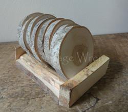 Apple Wood Coasters