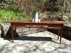 Shaker inspired console table