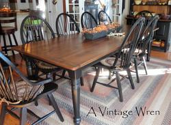 Farmhouse Dining Table for 10