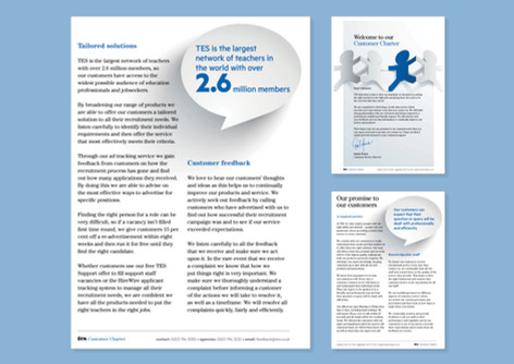TES Global - Customer charter