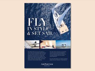 Air Partner press ad