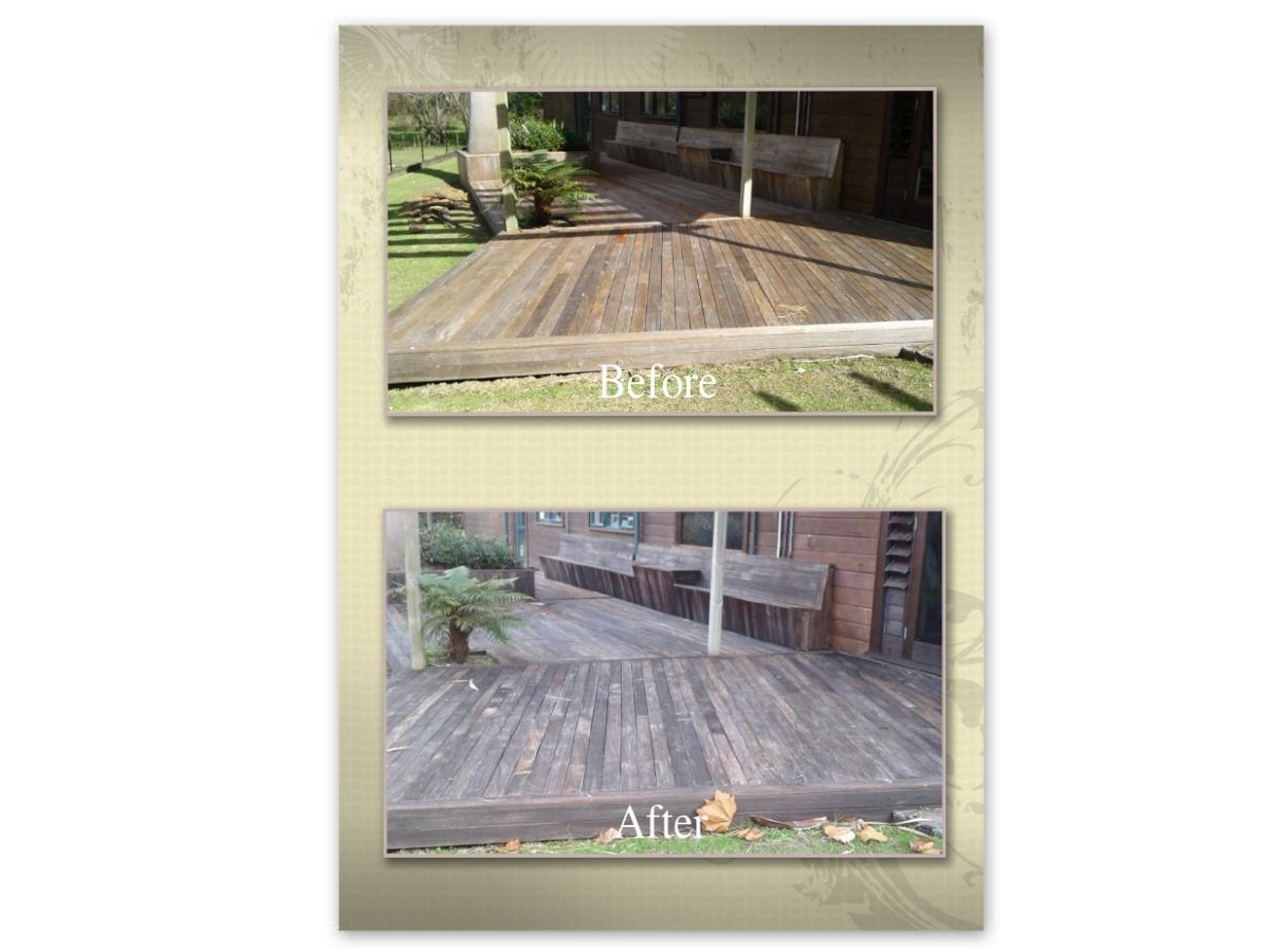 restoration of cedar deck