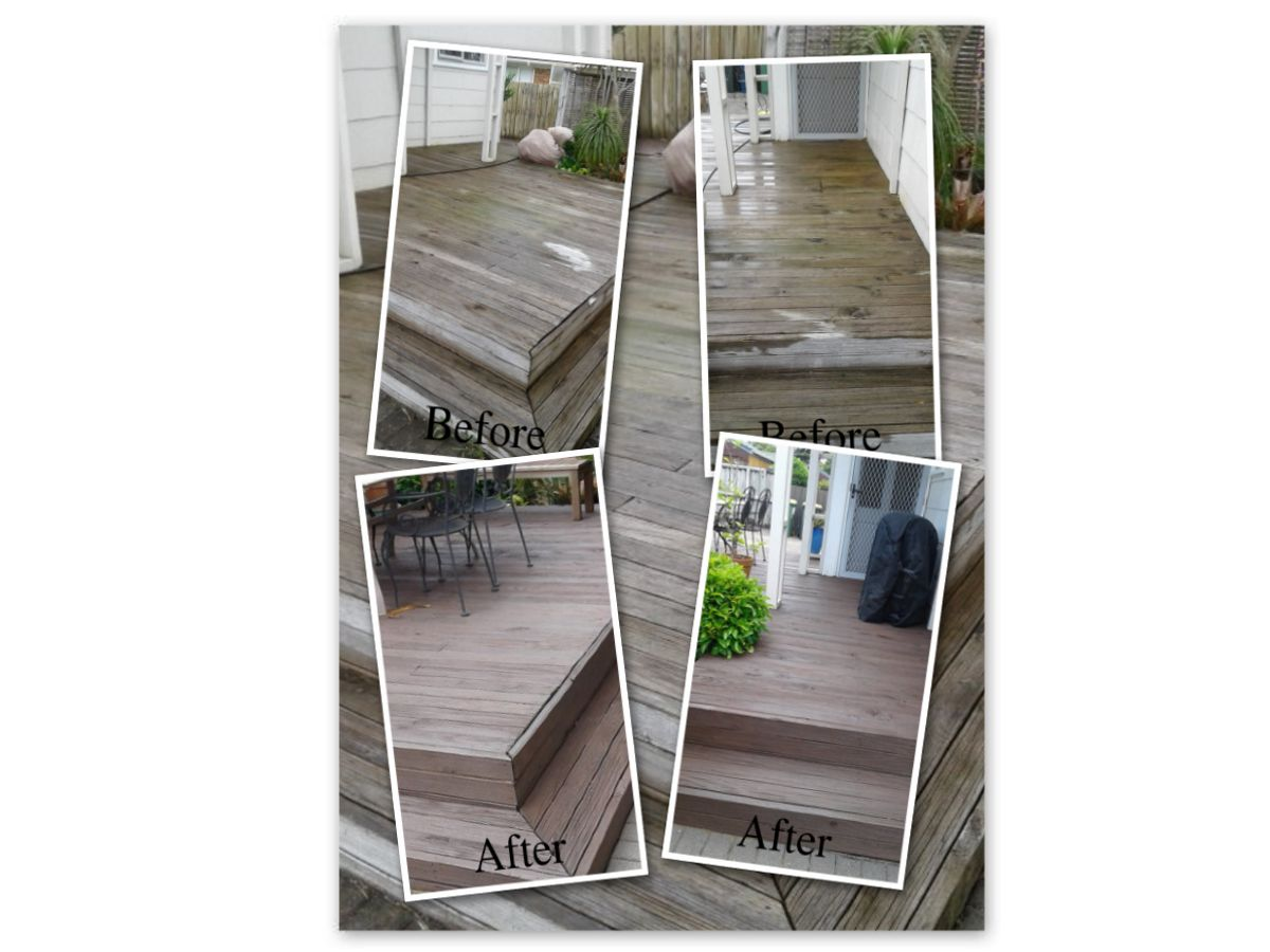 Restoration of deck