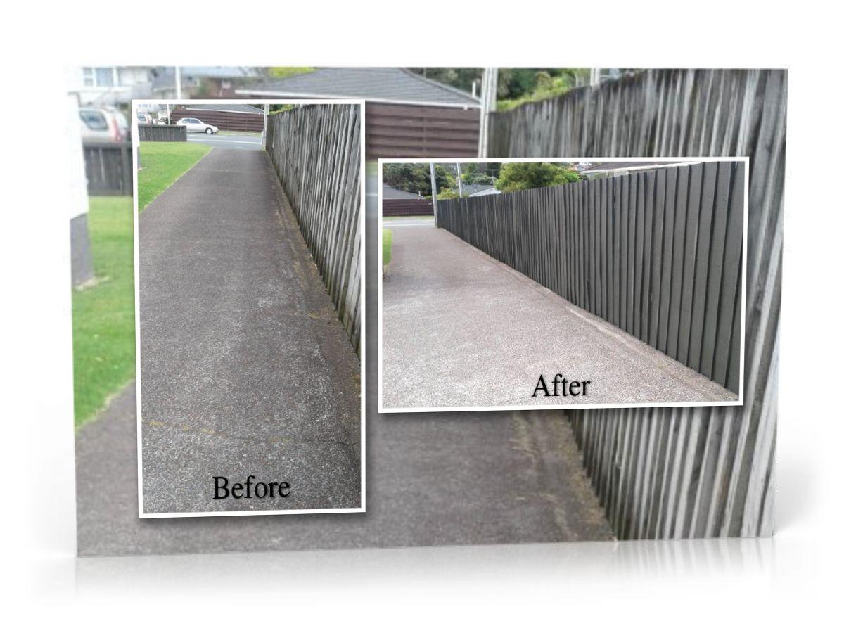 Restoration of Concrete Driveway