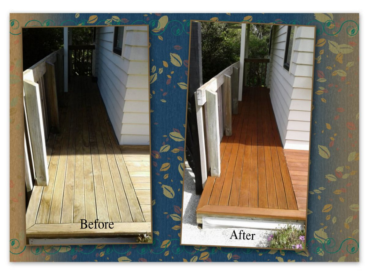 Revived Deck Entrance