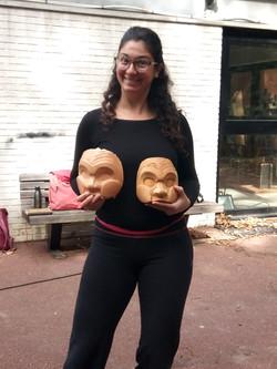 stage facture de masques de Commedia dell'arte