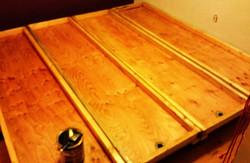 Custom sliding drain tables