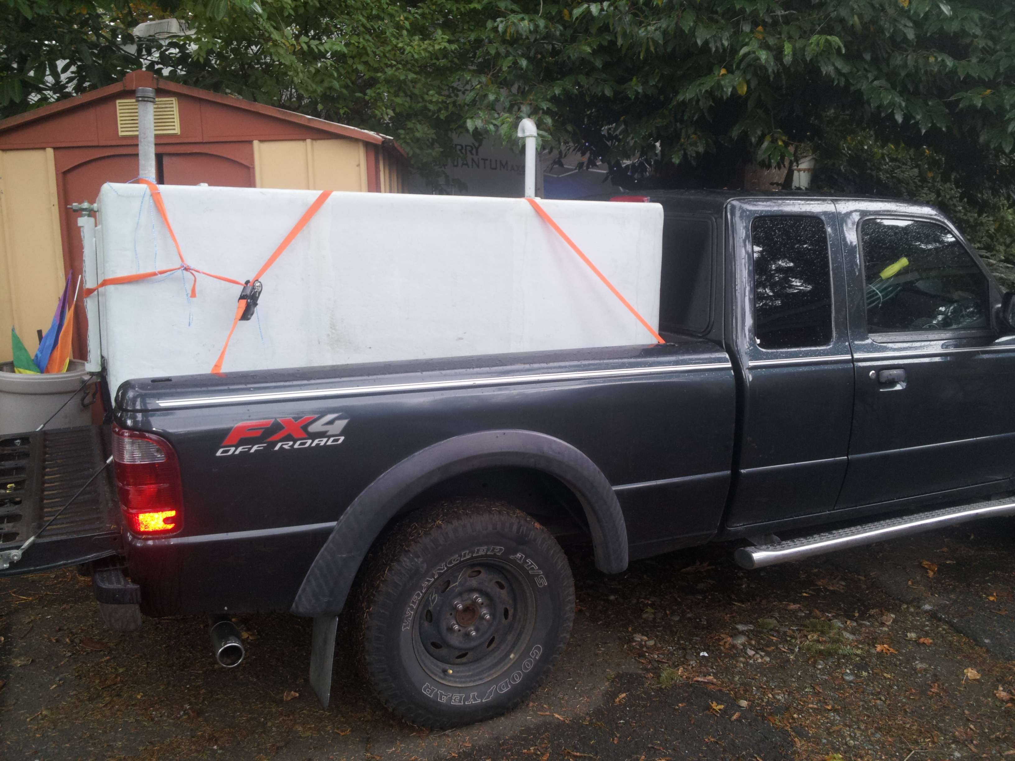 It began with a 250 gallon reservoir
