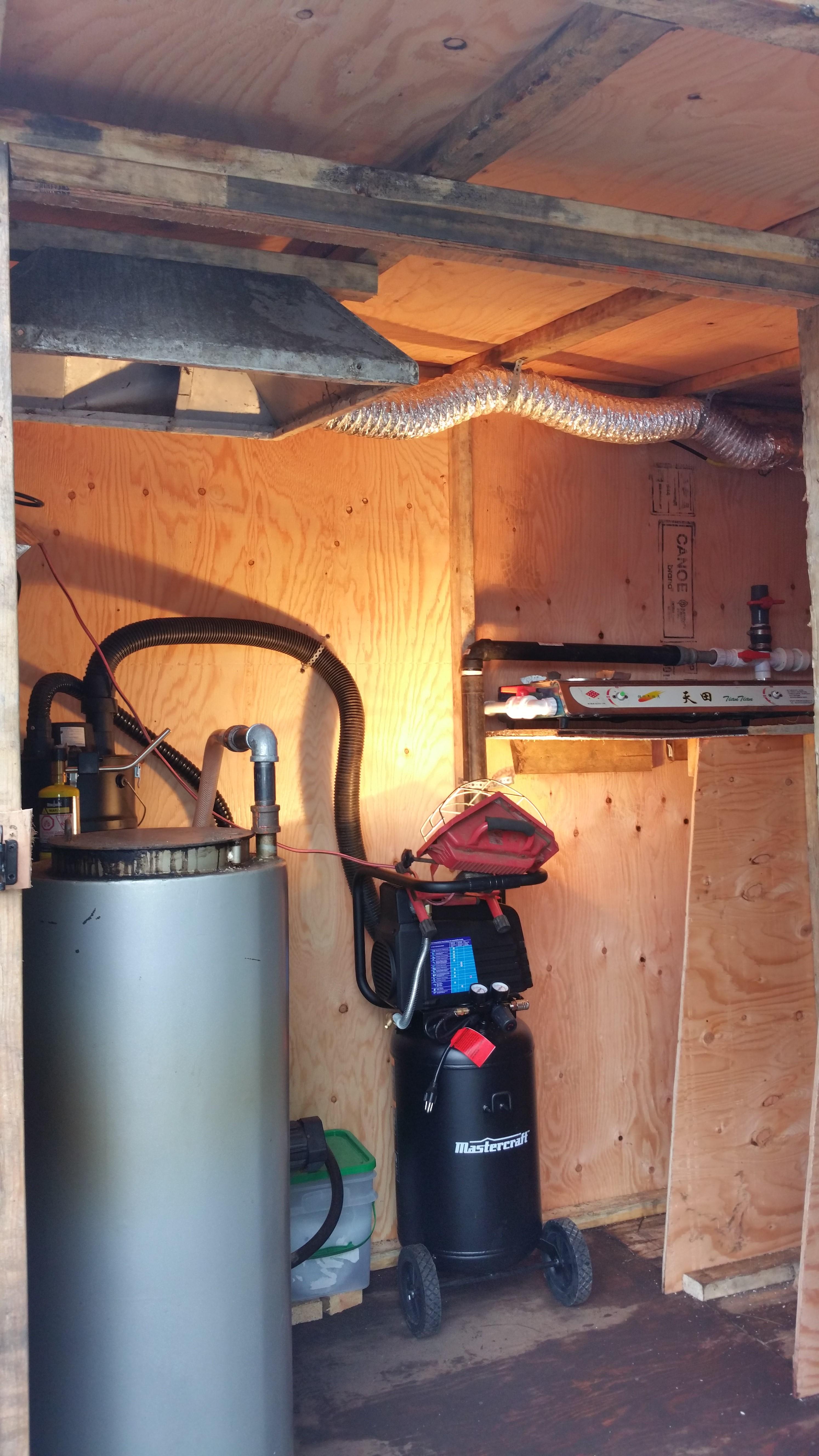 The biomass gasifier