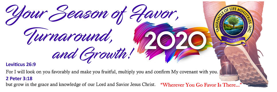 Your Season of Favor 2020 Banner 12.19.j