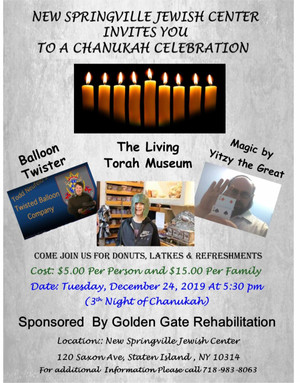 CHANUKAH PARTY!! - DEC 24