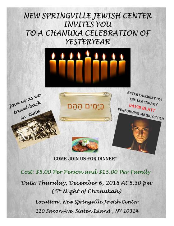 Chanukah Party!!