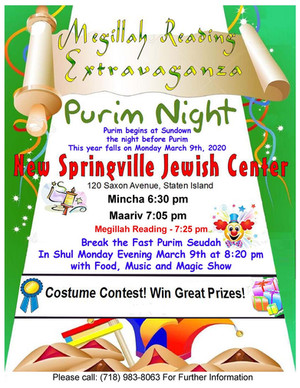 PURIM - MARCH 10