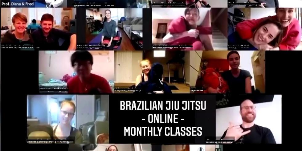 Brazilian Jiu Jitsu - Online Classes