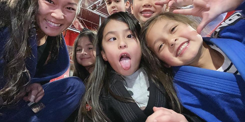 [February] 4-Week Online Kids BJJ Intro Program - Brazilian Jiu Jitsu / Self Defense