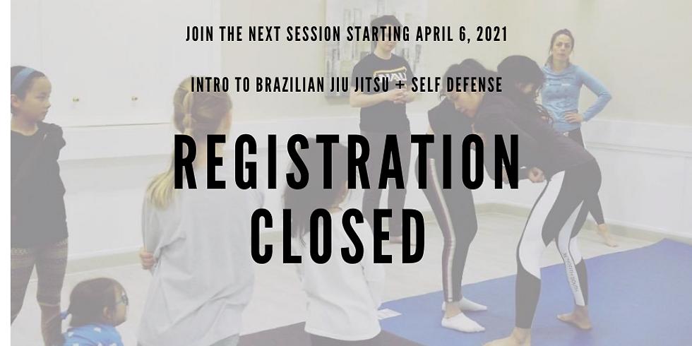 [March] 4-Week Online Adults BJJ Intro Program - Brazilian Jiu Jitsu / Self Defense